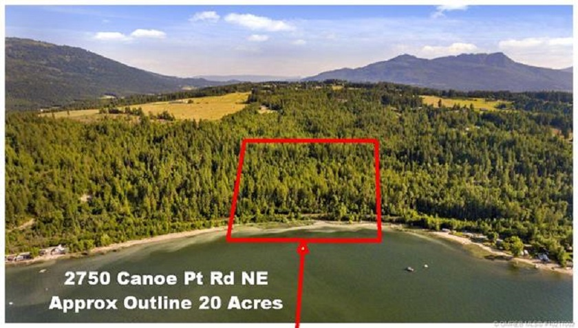 FEATURED LISTING: 2750 Canoe Beach Drive Salmon Arm