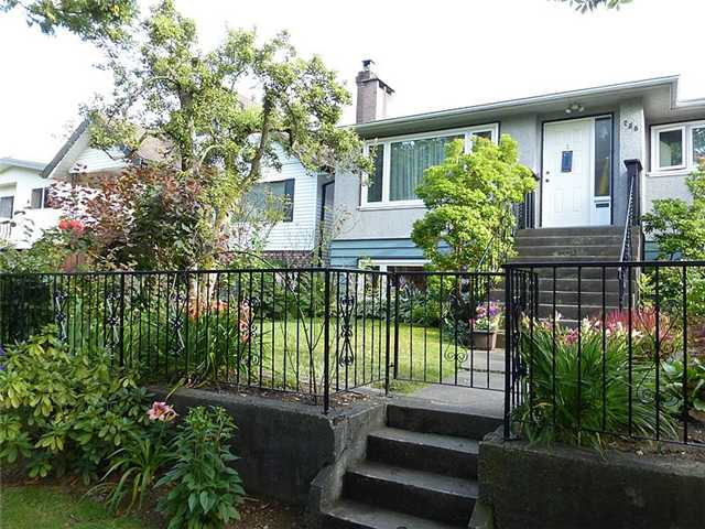 Main Photo: 756 E 23RD Avenue in Vancouver: Fraser VE House for sale (Vancouver East)  : MLS® # V1074088