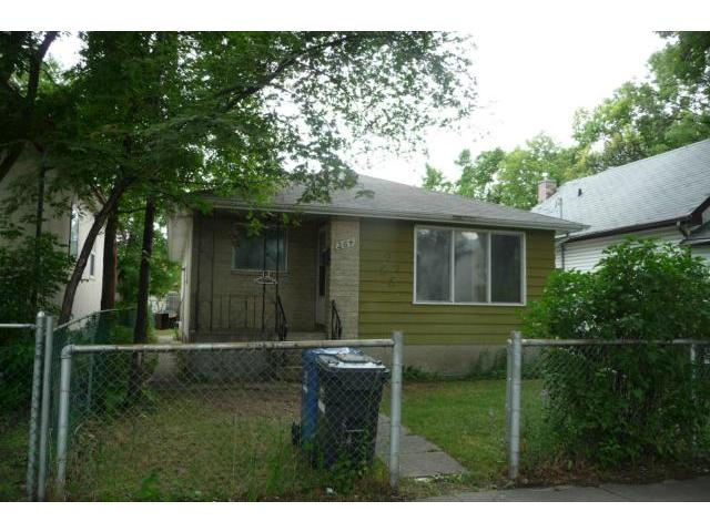 Main Photo: 264 Pritchard Avenue in WINNIPEG: North End Residential for sale (North West Winnipeg)  : MLS®# 1214735