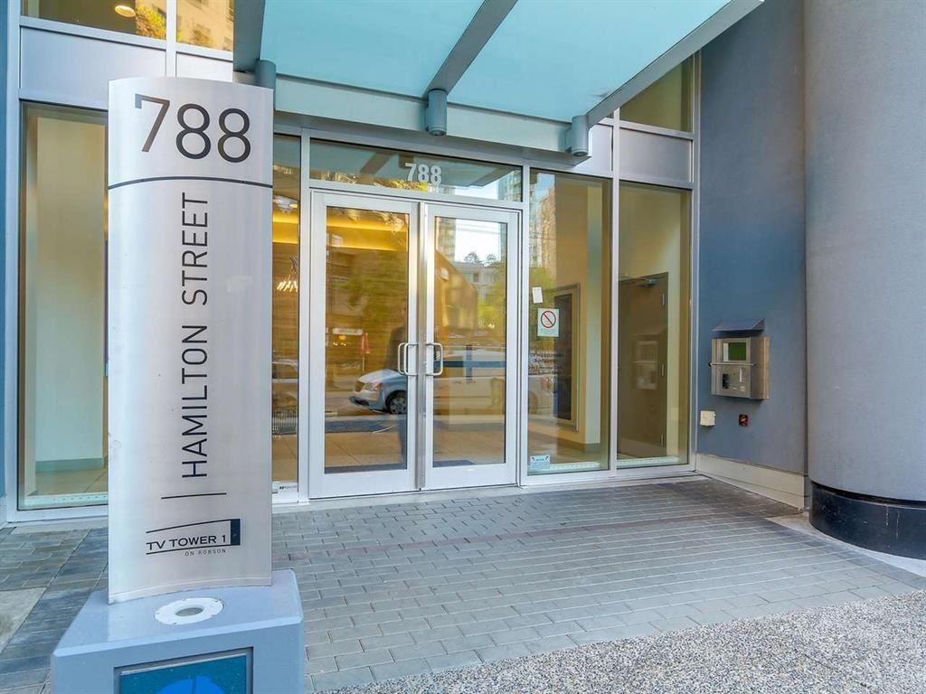 Main Photo: 1608 788 HAMILTON STREET in Vancouver: Downtown VW Condo for sale (Vancouver West)  : MLS®# R2121729