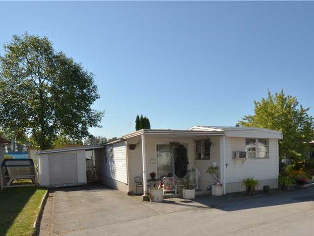 "Main Photo: 37 201 CAYER Street in Coquitlam: Maillardville Manufactured Home for sale in ""WILDWOOD PARK"" : MLS®# V972709"