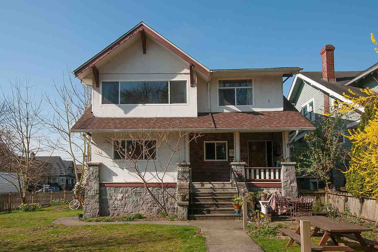 Main Photo: 2043 COLLINGWOOD STREET in Vancouver: Kitsilano House for sale (Vancouver West)  : MLS® # R2044911
