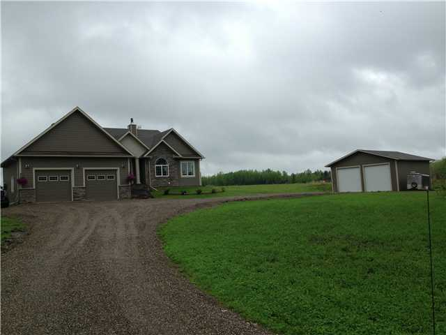 "Main Photo: 13464 279 Road in Charlie Lake: Lakeshore House for sale in ""TEA CREEK ESTATES"" (Fort St. John (Zone 60))  : MLS® # N228023"
