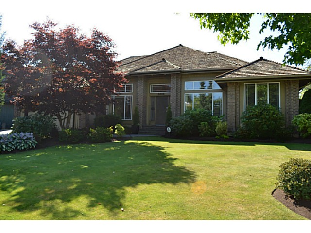 "Main Photo: 3326 CANTERBURY DR in SURREY: Morgan Creek House for sale in ""MORGAN CREEK"" (South Surrey White Rock)  : MLS®# F1318570"