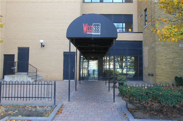 FEATURED LISTING: 210 - 833 King Street West Toronto