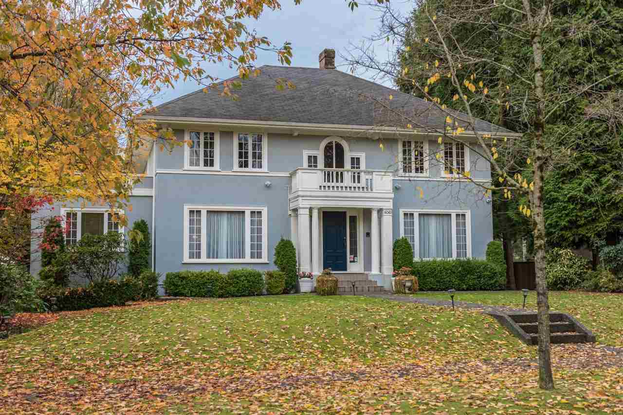 Main Photo: 6061 CHURCHILL STREET in Vancouver: South Granville House for sale (Vancouver West)  : MLS® # R2132233