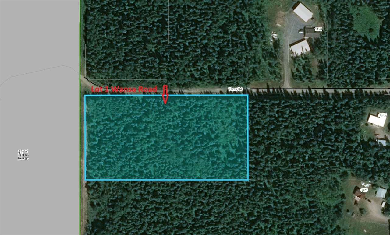 FEATURED LISTING: LOT 1 WANSA Road Prince George