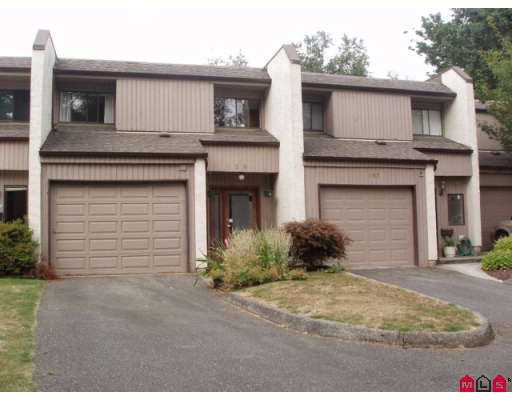 "Main Photo: 159 3455 WRIGHT ST in Abbotsford: Matsqui Townhouse for sale in ""Laburnum Mews"" : MLS®# F2620044"