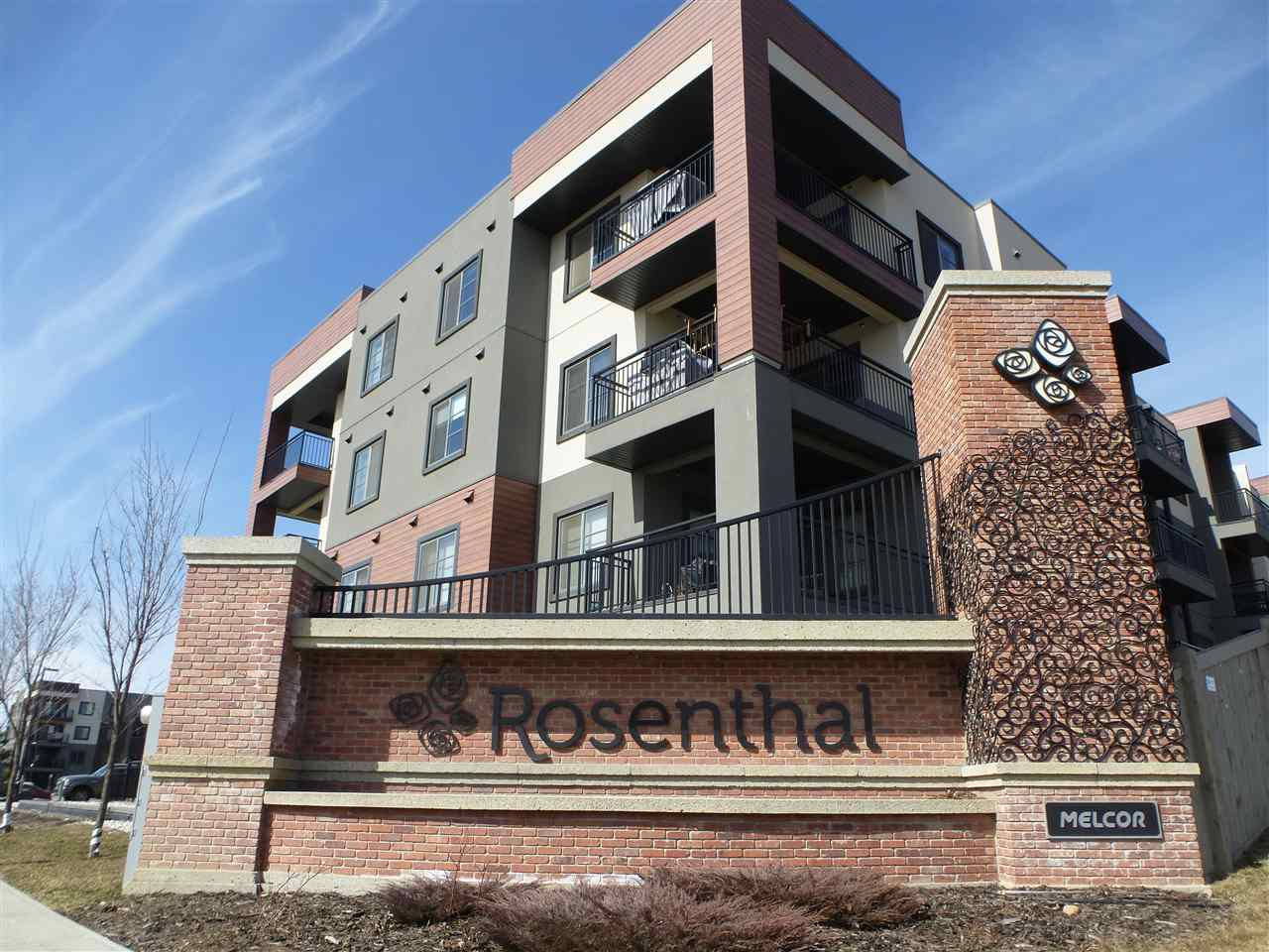 FEATURED LISTING: 415 - 1004 ROSENTHAL Boulevard Edmonton