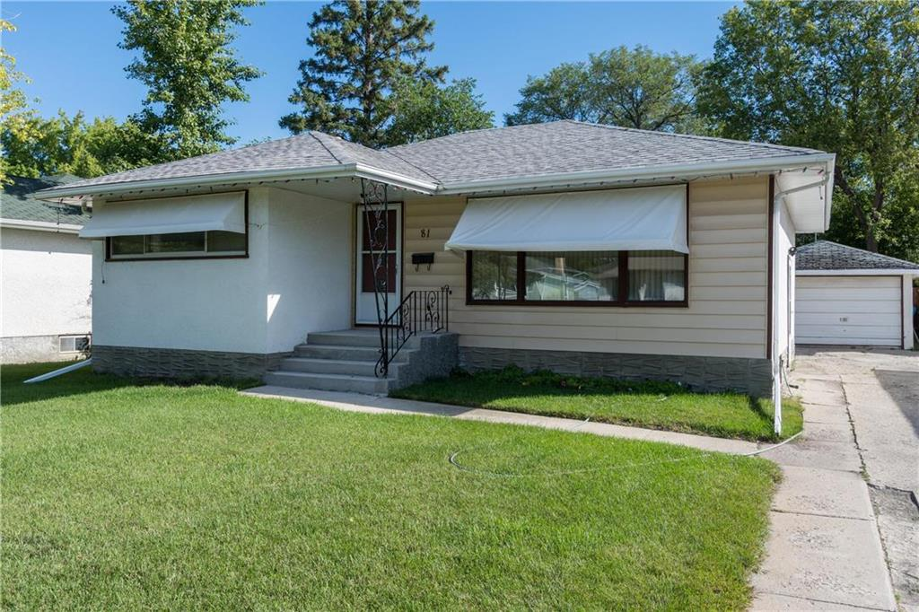FEATURED LISTING: 81 Crowson Bay Winnipeg