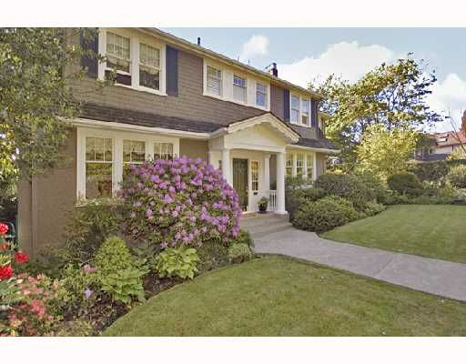 Main Photo: 4311 ANGUS Drive in Vancouver: Shaughnessy House for sale (Vancouver West)  : MLS®# V713303