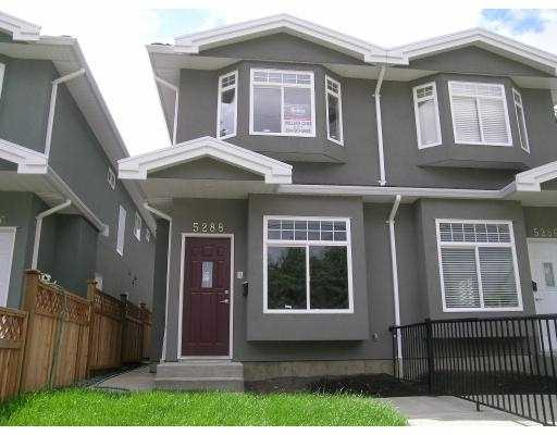 Main Photo: 5288 MANOR Street in Burnaby: Central BN House 1/2 Duplex for sale (Burnaby North)  : MLS® # V641178