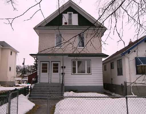 Main Photo: 445 CHURCH Avenue in WINNIPEG: North End Residential for sale (North West Winnipeg)  : MLS®# 2804069