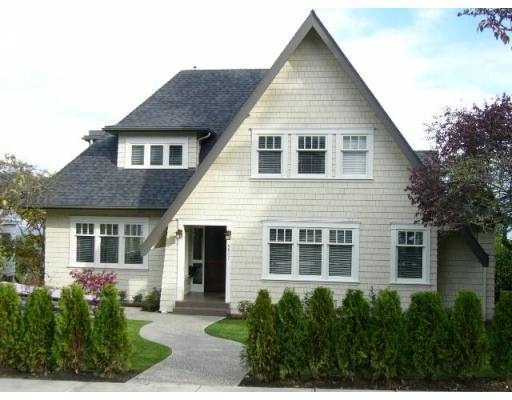 Main Photo: 4627 Bellevue in Vancouver West, Point Grey: Point Grey House for sale (Vancouver West)