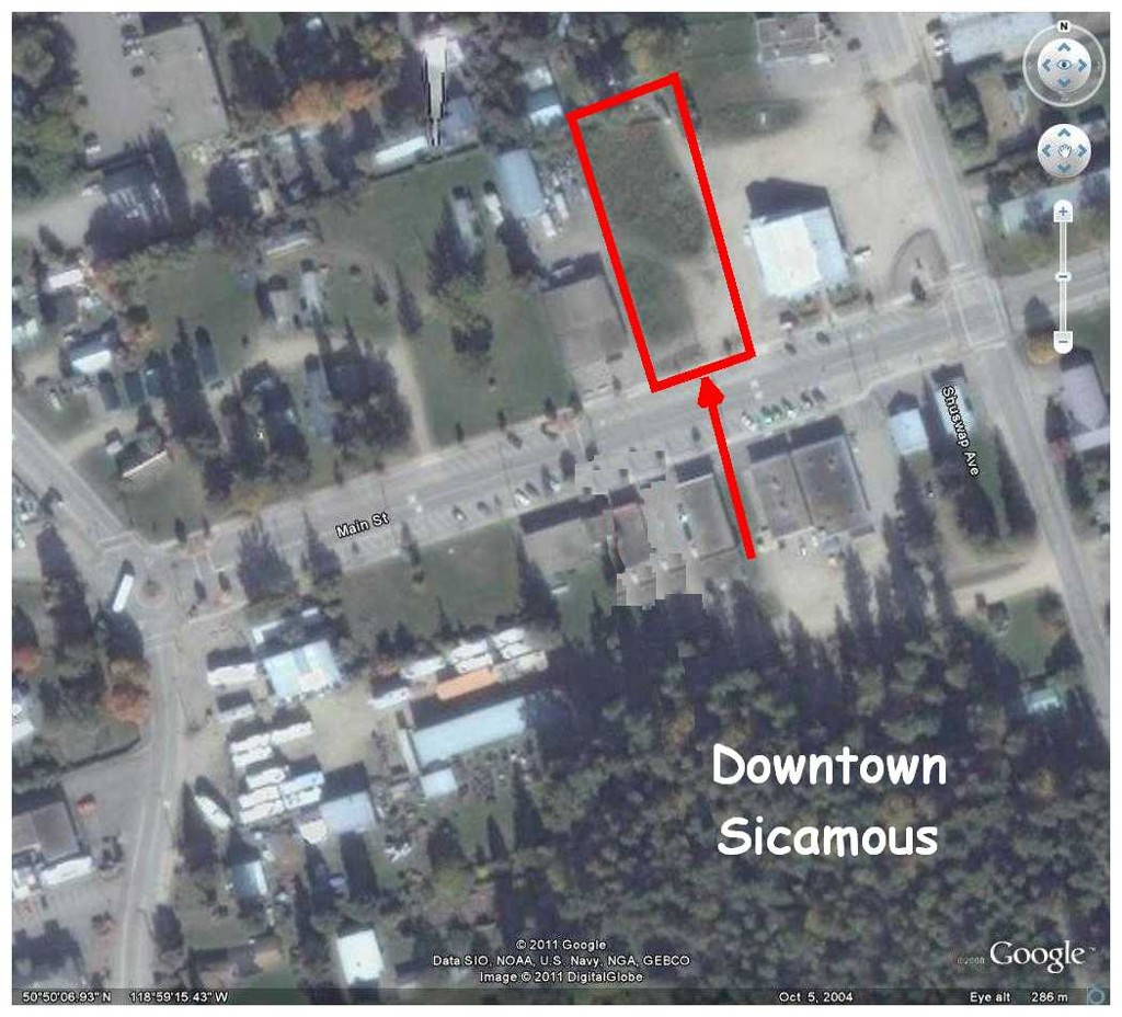 Main Photo: 310 Main ST in Sicamous: Downtown Industrial for sale : MLS® # 10058140