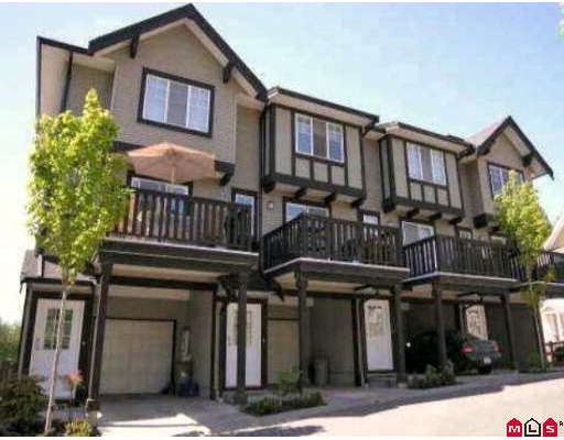 "Main Photo: 80 20176 68TH Avenue in Langley: Willoughby Heights Townhouse for sale in ""Steeplechase"" : MLS® # F2806030"