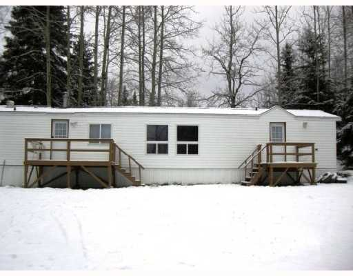 Main Photo: 9096 OLD SUMMIT LAKE Road in Prince_George: Old Summit Lake Road Manufactured Home for sale (PG City North (Zone 73))  : MLS®# N177968