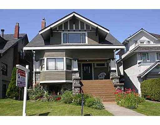 Main Photo: 3317 W 2ND AV in VANCOUVER: Kitsilano House Triplex for sale (Vancouver West)  : MLS®# V540147
