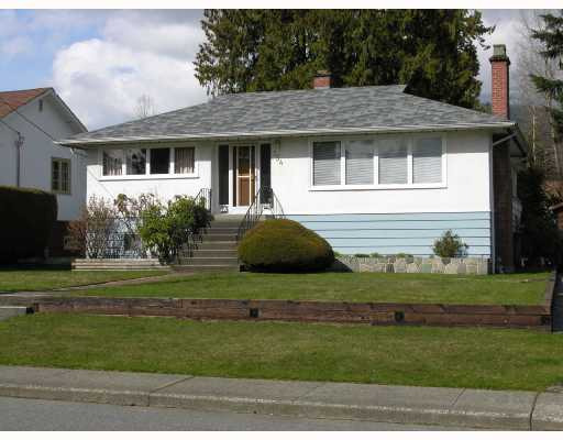 Main Photo: 754 E 17TH Street in North_Vancouver: Boulevard House for sale (North Vancouver)  : MLS®# V698095