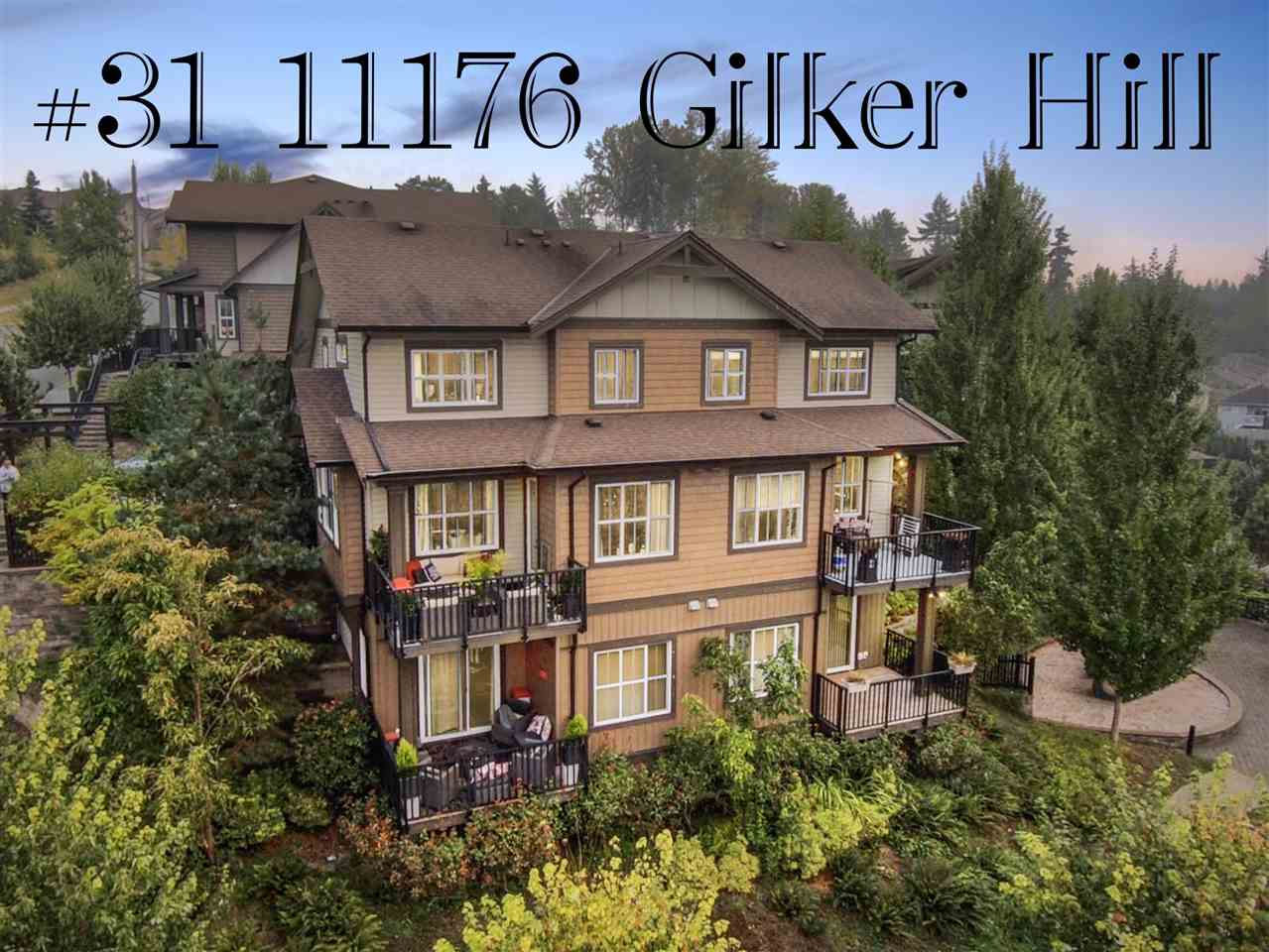 FEATURED LISTING: 31 - 11176 GILKER HILL Road Maple Ridge