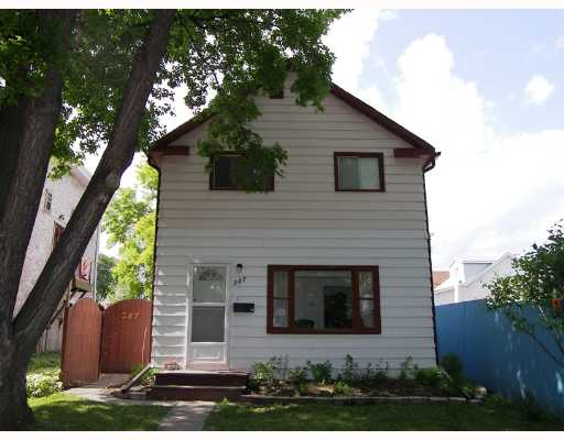 Main Photo: 287 NOTRE DAME Street in WINNIPEG: St Boniface Single Family Detached for sale (South East Winnipeg)  : MLS®# 2710240