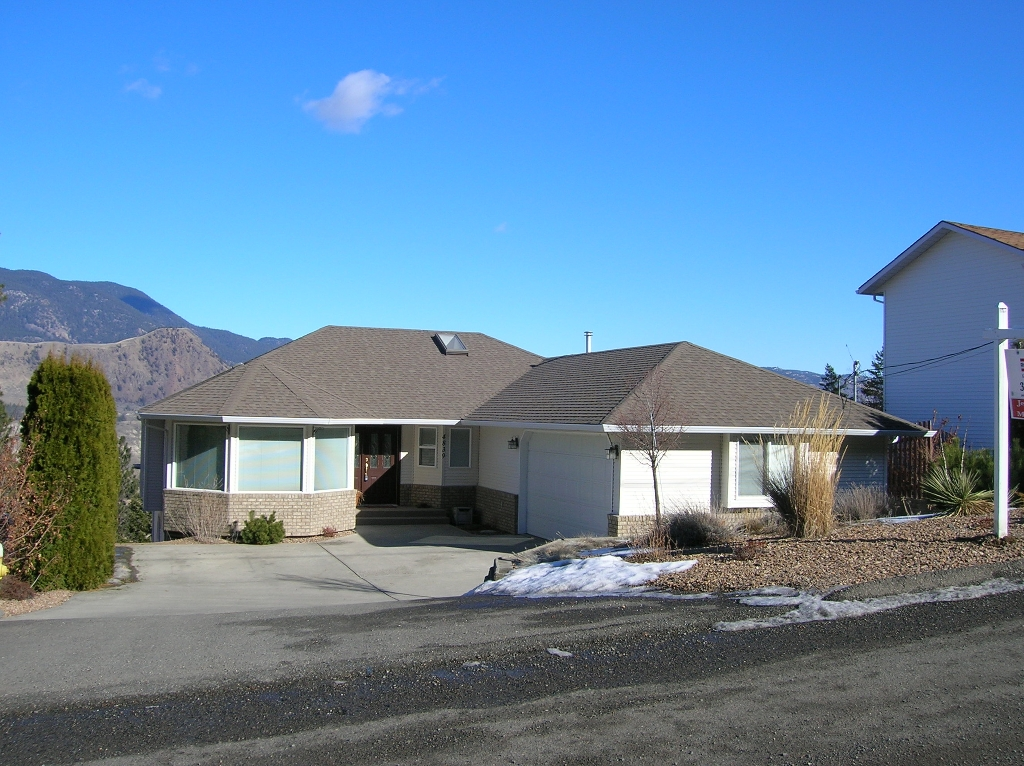 Main Photo: 4839 Uplands Drive in Kamloops: Barnhartvale House for sale : MLS® # 107438