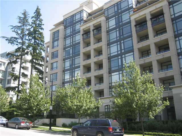 "Main Photo: # 701 9300 UNIVERSITY CR in Burnaby: Simon Fraser Univer. Condo for sale in ""ONE UNIVERSITY CRESCENT"" (Burnaby North)  : MLS®# V843046"