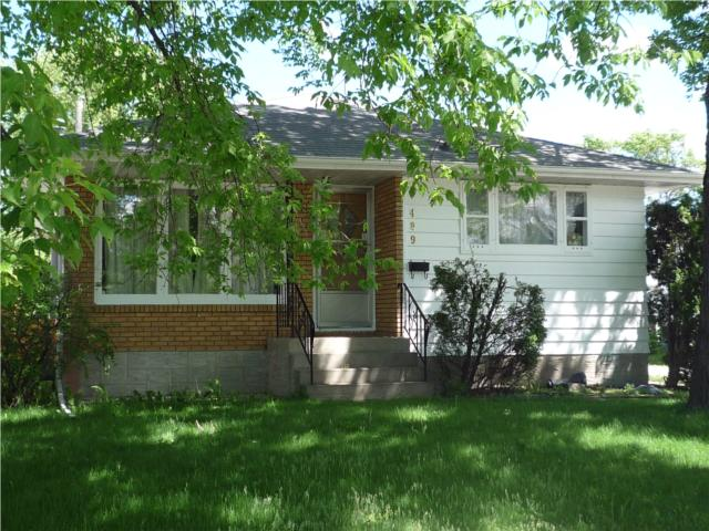 Main Photo: 489 Greene Avenue in WINNIPEG: East Kildonan Residential for sale (North East Winnipeg)  : MLS® # 1010343