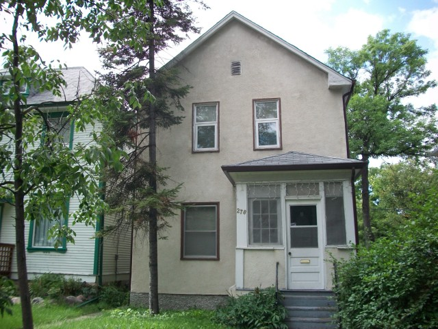Main Photo: 278 AUBREY Street in WINNIPEG: West End / Wolseley Residential for sale (West Winnipeg)  : MLS® # 1016343