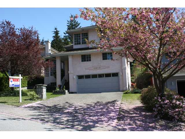 Main Photo: 1415 PURCELL Drive in Coquitlam: Westwood Plateau House for sale : MLS®# V826307