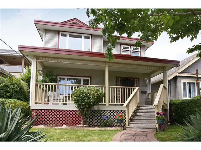 "Main Photo: 1431 7TH Avenue in New Westminster: West End NW House for sale in ""WEST END"" : MLS®# V839697"