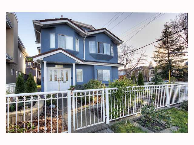 "Main Photo: 1018 E 31ST Avenue in Vancouver: Fraser VE House for sale in ""FRASER"" (Vancouver East)  : MLS® # V816155"