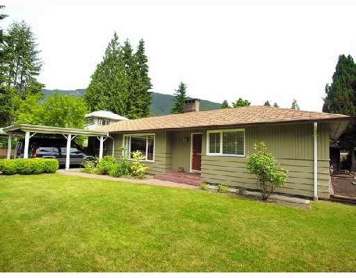Main Photo: 4610 GLENWOOD Avenue in North_Vancouver: Canyon Heights NV House for sale (North Vancouver)  : MLS® # V726450