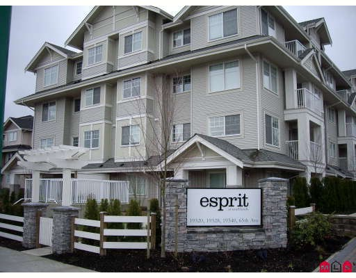 "Main Photo: 407 19320 65TH Avenue in Surrey: Clayton Condo for sale in ""ESPRIT AT SOUTHLANDS"" (Cloverdale)  : MLS®# F2908846"