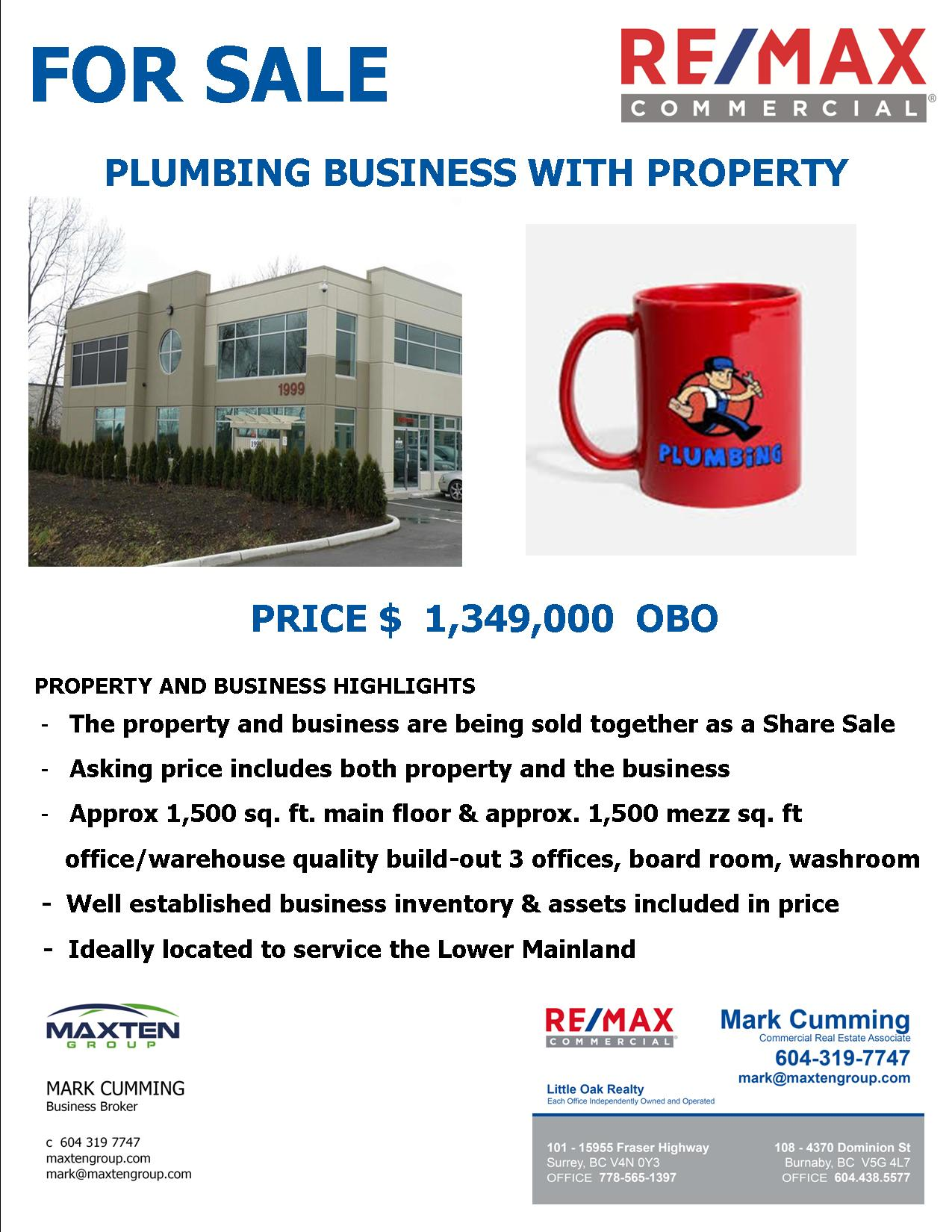 FEATURED LISTING: ~ Business with Property