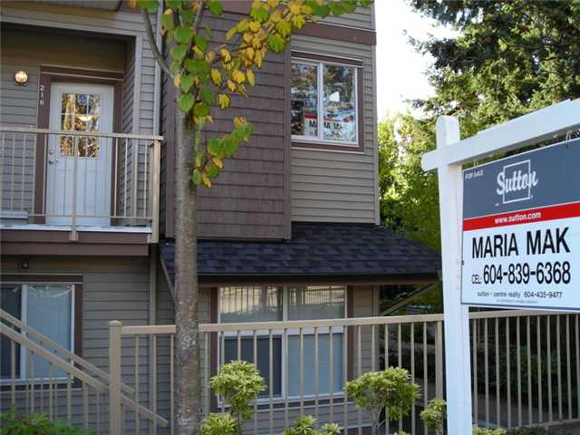 Main Photo: 216 5155 WATLING Street in Burnaby: Metrotown Townhouse for sale (Burnaby South)  : MLS® # V857652