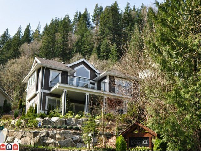 "Main Photo: 34496 ROCKRIDGE Place in Mission: Hatzic House for sale in ""ROCKRIDGE ESTATES"" : MLS® # F1008101"
