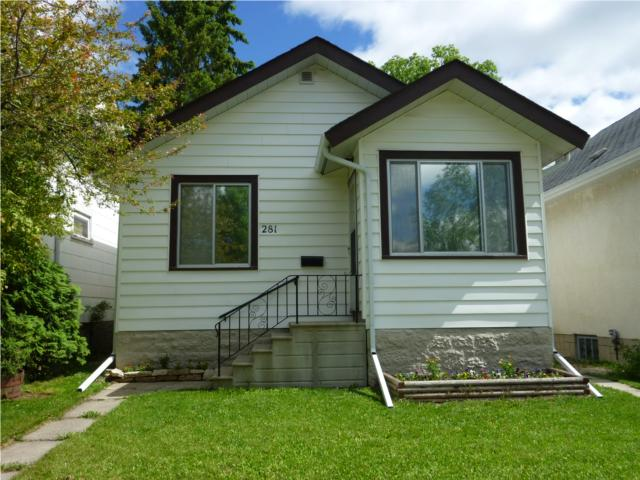 Main Photo: 281 WINTERTON Avenue in WINNIPEG: East Kildonan Residential for sale (North East Winnipeg)  : MLS® # 1010806