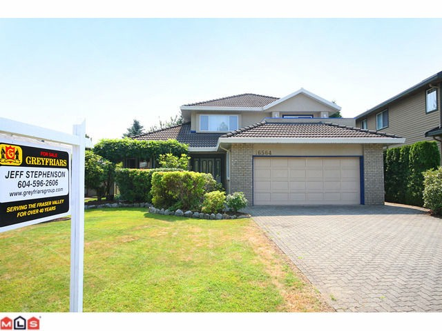 "Main Photo: 16564 S GLENWOOD in Surrey: Fraser Heights House for sale in ""Fraser Heights"" (North Surrey)  : MLS®# F1101813"