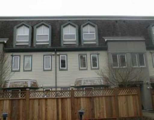 "Main Photo: 46 1225 BRUNETTE AV in Coquitlam: Maillardville Townhouse for sale in ""PLACE FONTAINEBLEAU"" : MLS® # V530680"