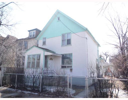 Main Photo: 346 BURROWS Avenue in WINNIPEG: North End Residential for sale (North West Winnipeg)  : MLS® # 2905859