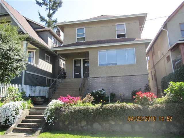 Main Photo: 1536 E 13TH Avenue in Vancouver: Grandview VE House for sale (Vancouver East)  : MLS® # V825354
