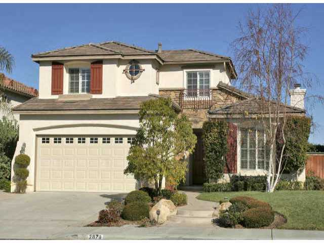 Main Photo: CARLSBAD SOUTH Residential for sale : 4 bedrooms : 2878 Avenida Cereza in Carlsbad