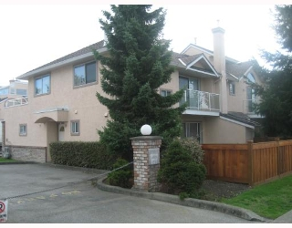"Main Photo: 19 12438 BRUNSWICK Place in Richmond: Steveston South Townhouse for sale in ""BRUNSWICK GARDENS"" : MLS® # V754126"