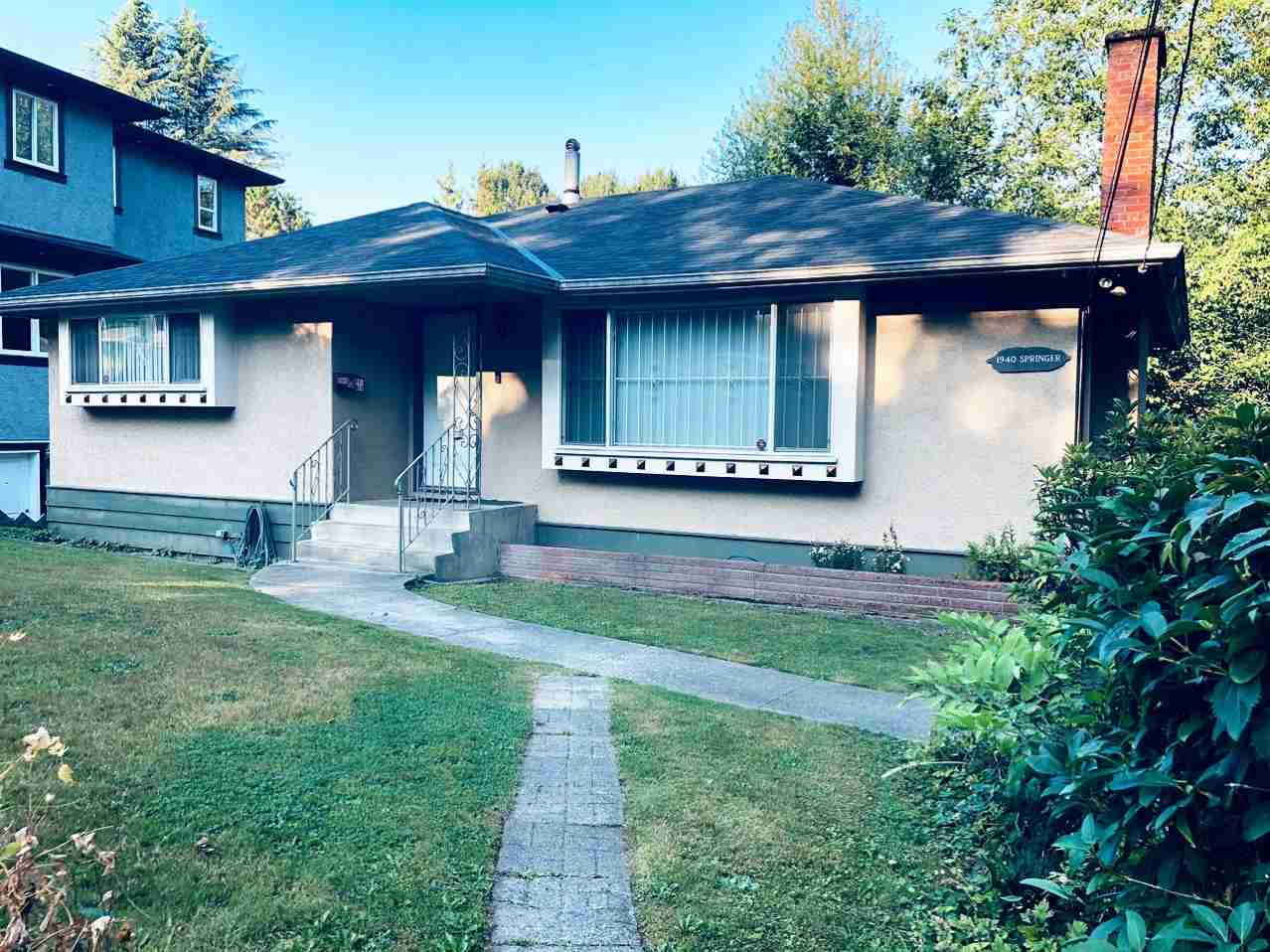 FEATURED LISTING: 1940 SPRINGER Avenue Burnaby