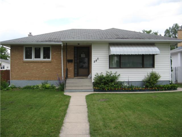 Main Photo: 485 Oakview Avenue in WINNIPEG: East Kildonan Residential for sale (North East Winnipeg)  : MLS® # 1014022