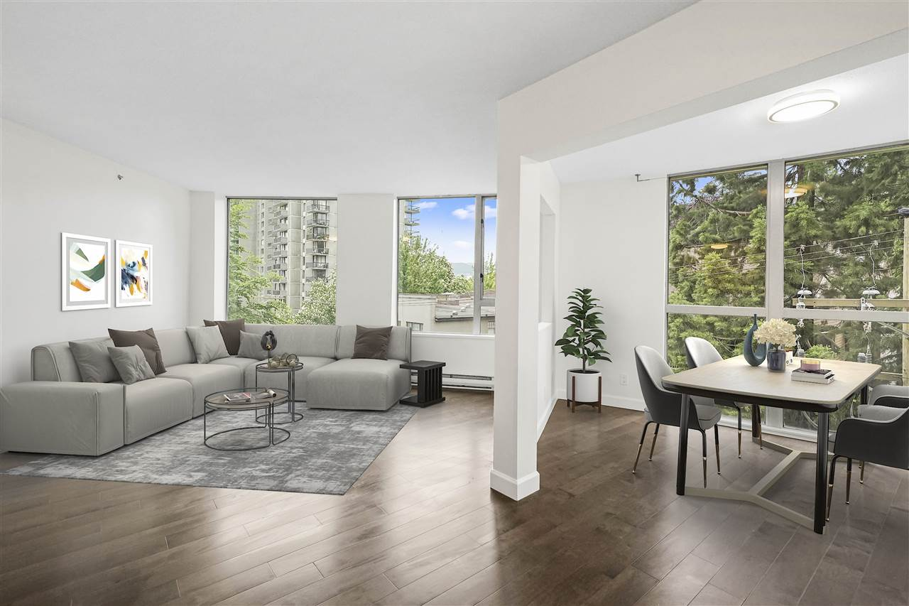 FEATURED LISTING: 402 - 1277 NELSON Street Vancouver