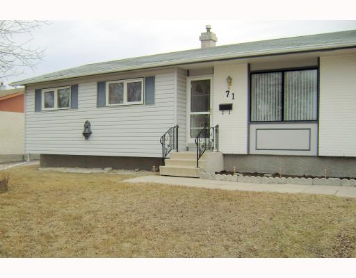 FEATURED LISTING: 71 HATCHER Road WINNIPEG