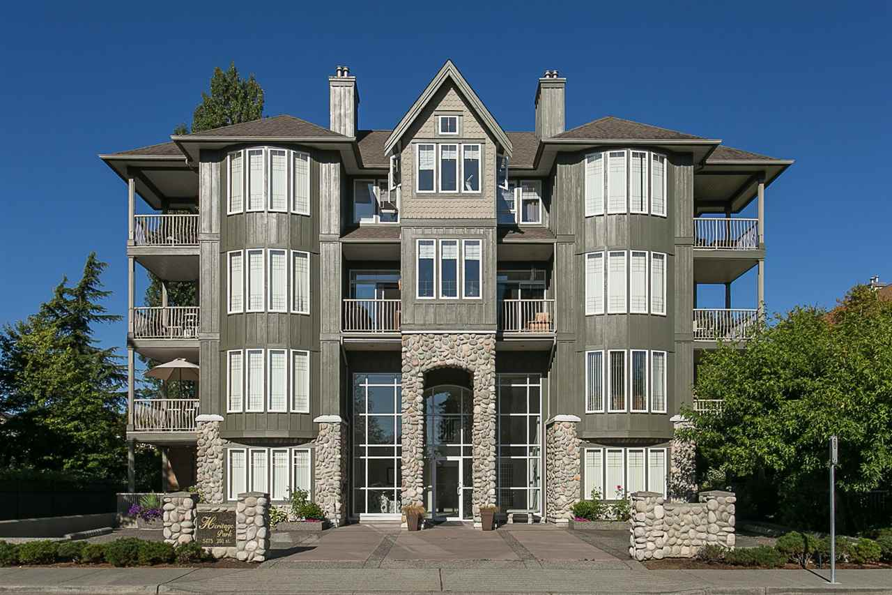 "Main Photo: 305 5475 201 Street in Langley: Langley City Condo for sale in ""HERITAGE PARK"" : MLS® # R2170773"