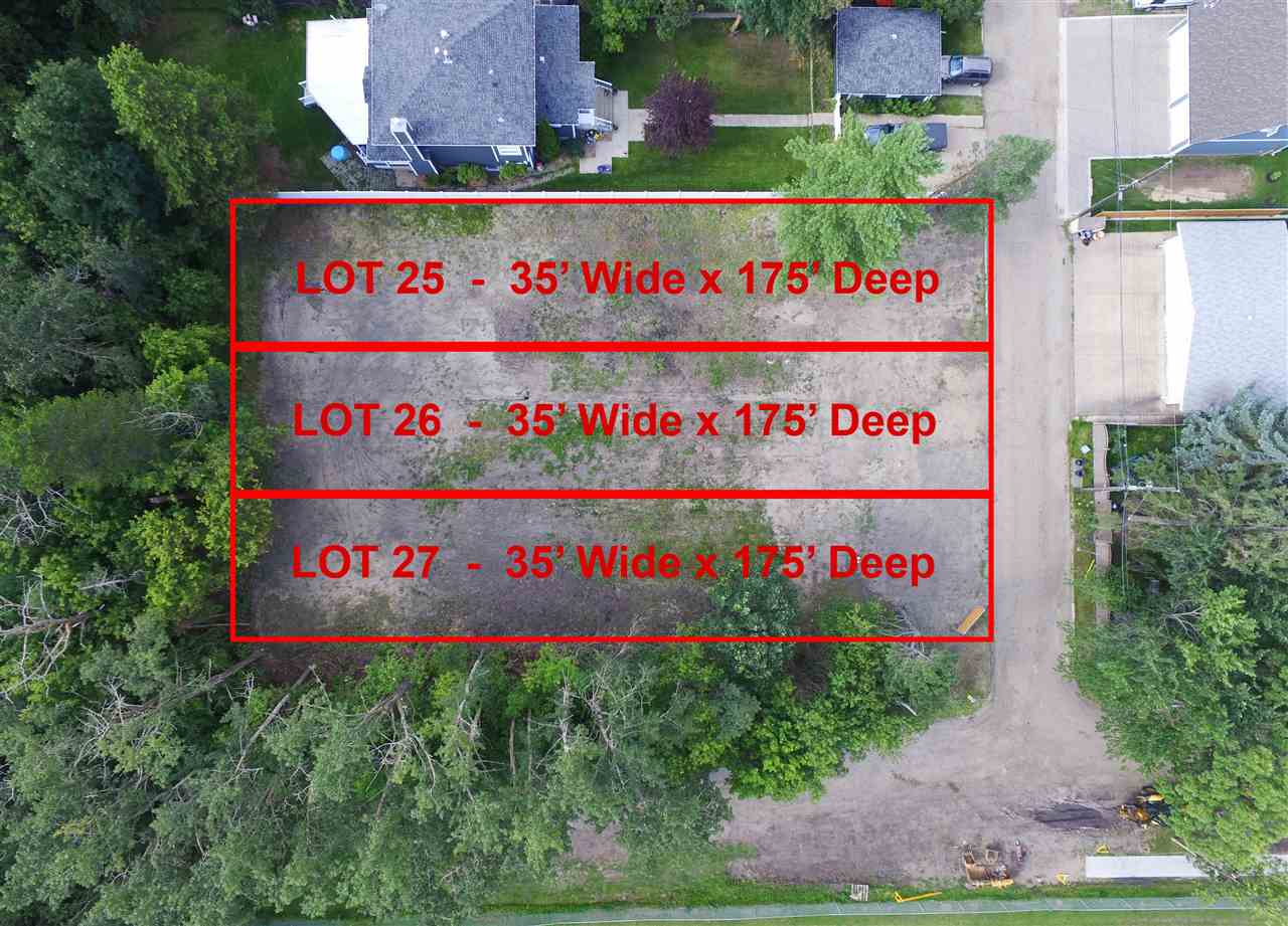 Main Photo: 9205 96 Street in Edmonton: Zone 18 Vacant Lot for sale : MLS®# E4097808